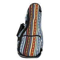 Eddy Finn Gig Bag Series EF-HUB-C Ukulele, Red/Blue/White