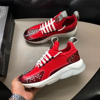 Versace 19SS Chain Reaction Sneakers