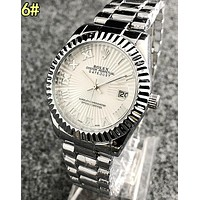 Rolex Classic Ladies Men Stylish Movement Business Watch Wristwatch 6#