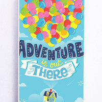 iPhone 5S Case - Rubber TPU Cover with Adventure Is Out There Pixar Disney Up Rubber Case Design