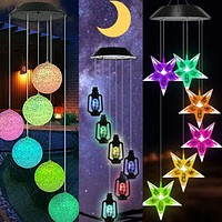Coloured LED Winchime Light for Outdoor Party