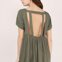 Solid Love Babydoll Dress