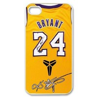 kobe bryant jersey case for iphone 4s 5s 5c 6 6s plus  number 1