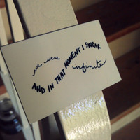 The Perks of Being a Wallflower Quote Magnet