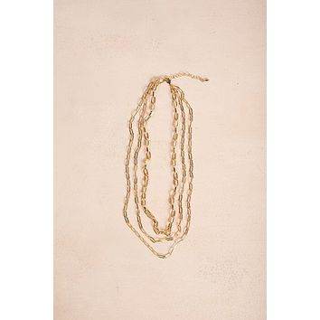 Penelope Gold Layered Chain Necklace
