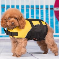 Small Dog Pet Puppy Life Jacket Vest Safety Clothes for Dog Swimming Puppy Swimwear