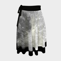 Full Moon Wrap Skirt | Hippie Clothes | Festival Clothing | Aesthetic | Witchy Witch Halloween Pagan | Boho Bohemian | Space Astronomy
