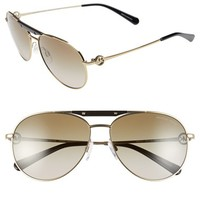 Women's Michael Kors 58mm Aviator Sunglasses