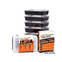 Microwavable Reusable Healthy Meal Prep Food Storage Containers Food Prep EBook