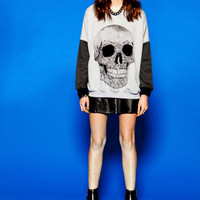 Skull Head Sweatshirt from Evil Twin