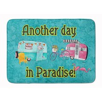 Another Day in Paradise Machine Washable Memory Foam Mat 8758RUG