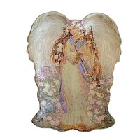 Bradford Exchange, Symphony of Angels, Ethereal Delight, Angel Wall Plate, Angel Décor, Wall Décor, Angel, Bradford Collectible, Easter