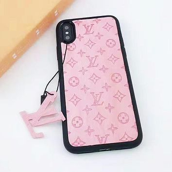 LV Louis Vuitton Newest Fashion Multicolor iPhone Phone Cover Case For iphone 6 6s 6plus 6s-plus 7 7plus iPhone X XR XS XS MAX