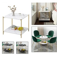 Antique Marble Shine Coffee Tables For Home Furniture