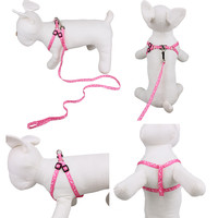 Durable Nylon Pet Cat Doggie Puppy Leashes Lead Harness Belt Rope Basic Ped Dog Leashes