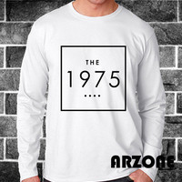 The 1975 Shirt The 1975 Band Long Sleeve Printed Black and White Color Unisex Size - AR47