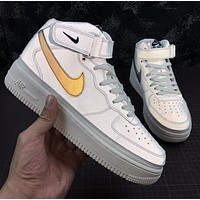 Nike Air Force 1 '07 MID 3M Reflective Women Men Sneakers Sport Shoes