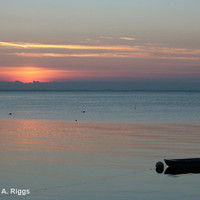 Sunset with Boat by shyphotog on Etsy