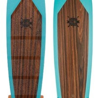 "Globe Byron Bay 43"" Complete Longboard - silver trucks/orange wheels - Free Shipping"