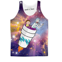 Rick and Morty Take Off Tank