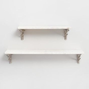 Marble Mix & Match Wall Shelf Collection