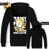 Overwatch Mercy Chibi Pullover Hoodie