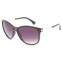 Full Tilt Salt Water Sunglasses Black One Size For Women 24108710001