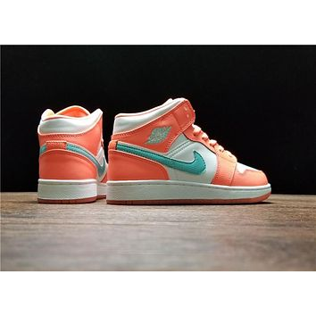 Air Jordan 1 Mid GS 555112-814