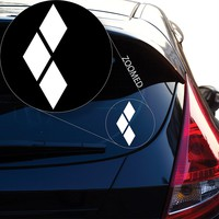 "Batman inspired Harley Quinn Decal Sticker for Car Window, Laptop and More. # 830 (4"" x 1.6"", White)"