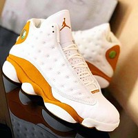 Nike AIR AJ 13 basketball shoes men's and women's shoes fashion high-top casual sports shoes