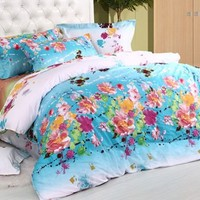 Cotton four pieces bedding suite - BD0022 from House Beauty