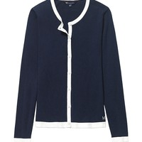 Women's Kinver With Contrast Po in Navy from Crew Clothing