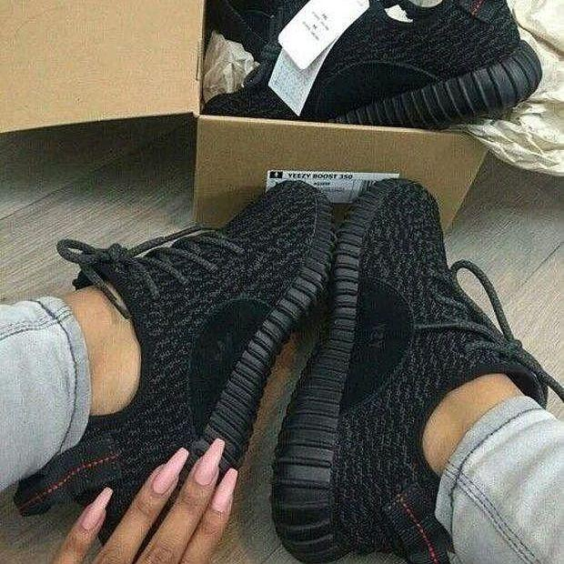 Image of Adidas Yeezy 350 Boost Sneakers Running Sports Shoes