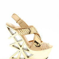 TAVIK OLYMPIAN GOLD GRID WEDGES