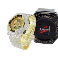Simulated Diamond 16.5 Ct Authentic G-Shock G100-110 Mens Watch