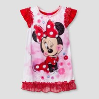 Toddler Girls' Minnie Mouse Nightgowns