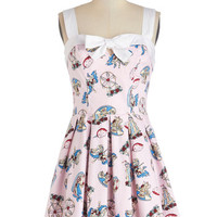 ModCloth Short Sleeveless A-line Fun Fair All Dress