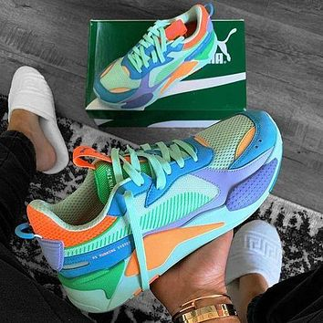 Puma Rs-x Toys Multicolor Sneakers Sport Shoes