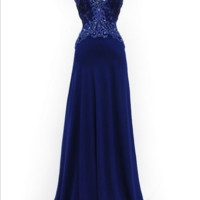 KCWM1518 Blue Mother of Bride Dress by Kari Chang Eternal - Plus Size Available