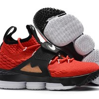 Nike LeBron 15 EP Red/Black Sport Shoe 40-46