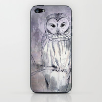 owl iPhone & iPod Skin by Marianna Tankelevich