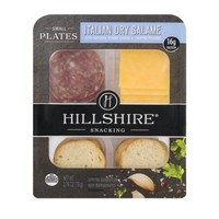 Hillshire® Snacking Small Plates Italian Dry Salame with Natural Gouda Cheese & Toasted Rounds 2.76 oz. Tray - Walmart.com