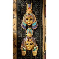 Park Avenue Collection Set Of Egyptian Pharaoh & Queen Masks