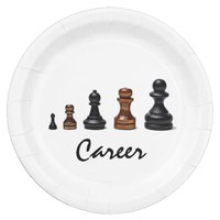 Career Path Paper Plate