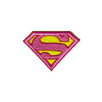 Supergirl Embroidered Iron-On Patch