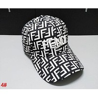 FENDI Tide brand men and women outdoor visor baseball cap