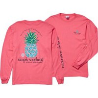 Simply Southern Women's Pineapple Long Sleeve T-Shirt | DICK'S Sporting Goods