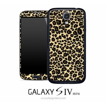 Jaguar Skin for the Galaxy S4