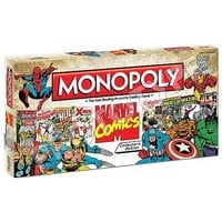 Marvel Comics Collector's Edition Monopoly Board Game - Usaopoly - Marvel - Games at Entertainment Earth