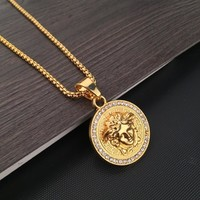 Gift Stylish Shiny New Arrival Jewelry Pendant Hot Sale Fashion Accessory Hip-hop Korean Couple Necklace [6542761219]